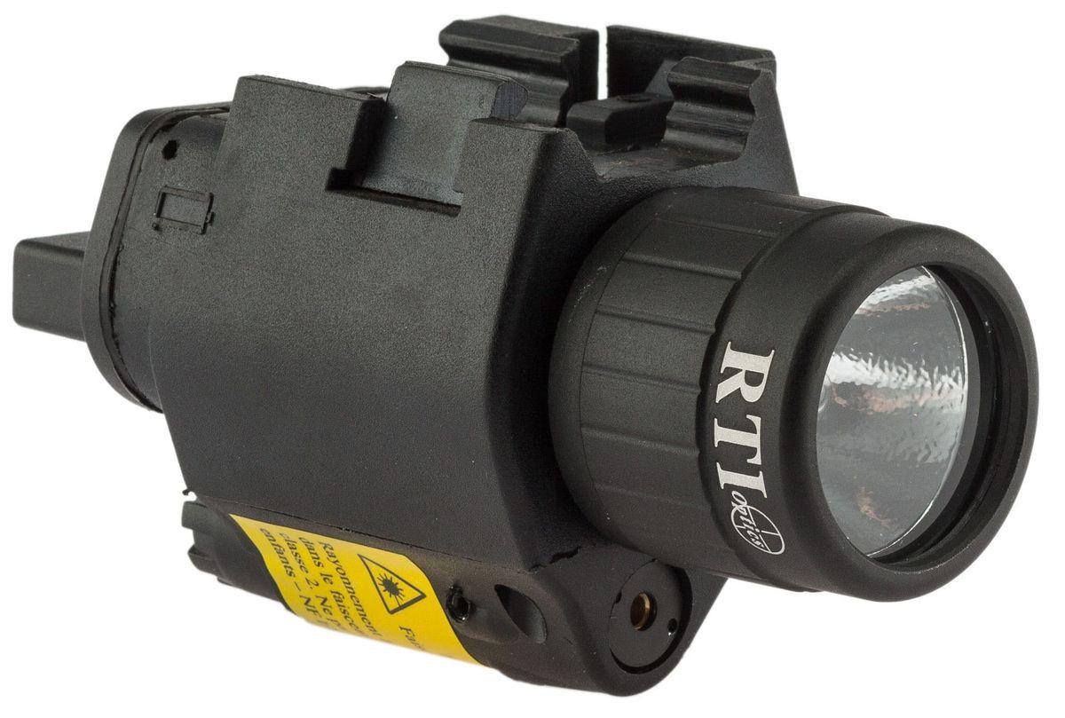 Bloc Lampe + Laser RTI optics 6 volts xénon (classe 2) avec câble déporté