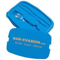 Boîte à repas Lunch Box Gun-Evasion avec couverts