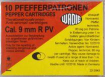 BOITE DE 10 CARTOUCHES CHARGE PEPPER CALIBRE 9MM RK REVOLVER