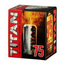 BOITE DE 75 CARTOUCHES TITAN A BLANC CALIBRE 9MM PAK