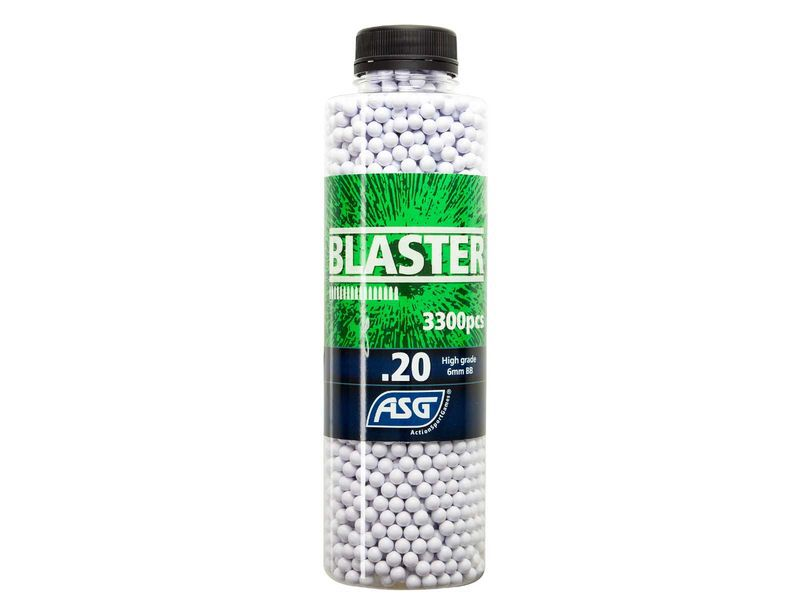 Bouteille 3300 Billes Airsoft 0.20g BLASTER ASG