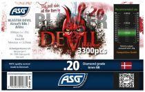 Bouteille 3300 Billes Airsoft 0.20g BLASTER DEVIL ASG