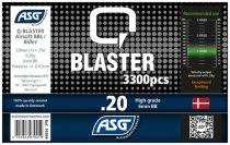 Bouteille 3300 Billes Airsoft 0.20g Q-BLASTER ASG