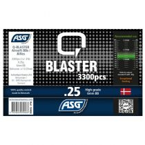 Bouteille 3300 Billes Airsoft 0.25g Q-BLASTER ASG
