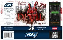 Bouteille 3300 Billes Airsoft 0.28g BLASTER DEVIL ASG