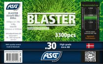Bouteille 3300 Billes Airsoft 0.30g BLASTER ASG