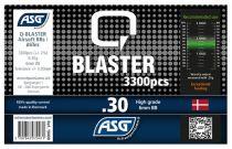 Bouteille 3300 Billes Airsoft 0.30g Q-BLASTER ASG