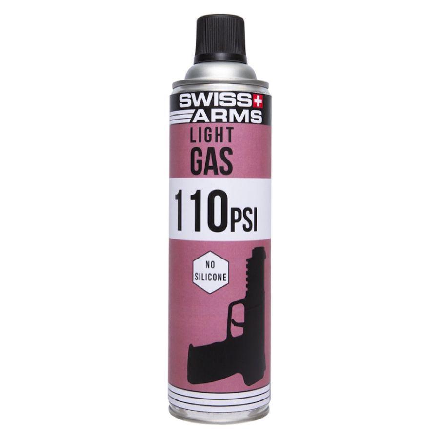 Bouteille de gaz Swiss Arms Violet 110 PSI Sec 450 ml