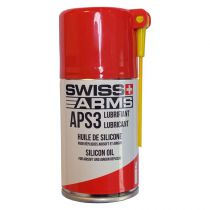 Bouteille entretien lubrifiant silicone Power Booster 160 ML Swiss Arms