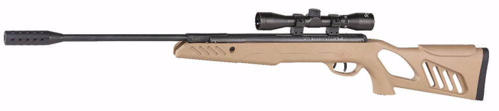 CARABINE A PLOMB 4.5 SA1200 TACTICAL STOCK 19.5 JOULES TAN