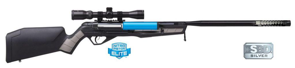 Carabine à plomb Crosman Steel Eagle NP2 CAL 5.5 avec lunette de visée