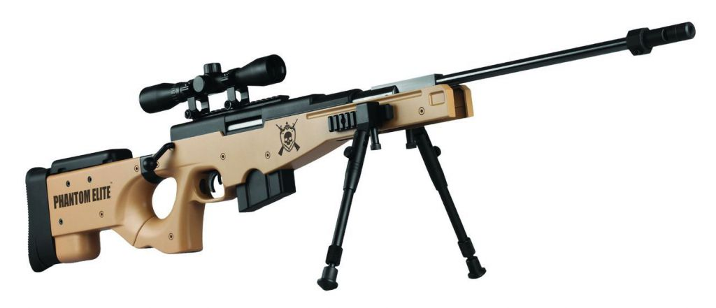 Carabine a plomb L115-B Desert Calibre 4.5 Sniper Phantom Elite Tan