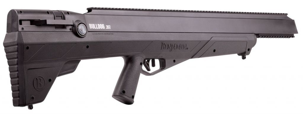 Carabine à plombs 9mm Crosman PCP Bulldog .357 19,9J