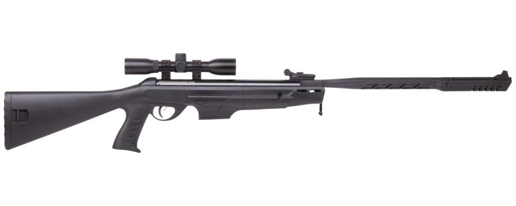 Carabine a plombs Crosman Diamondback NP Elite 19,9J Cal.4,5 avec lunette