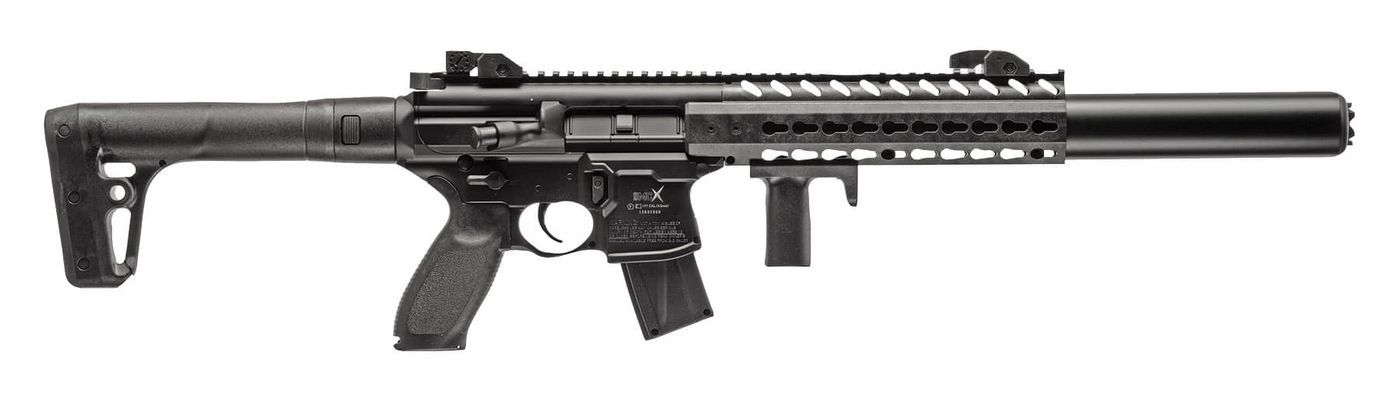 Carabine Sig Sauer MCX Noir Co2 plombs 4,5 mm 30 coups