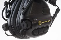 CASQUE DE TIR ANTI-BRUIT NOIR AVEC SUPPRESSION DE BRUIT