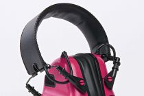 CASQUE DE TIR ANTI-BRUIT ROSE AVEC SUPPRESSION DE BRUIT