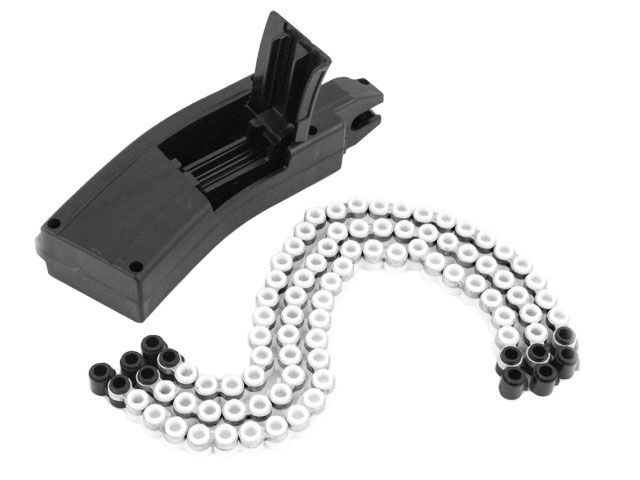 Chargeur + 3 chaines 30 coups pour SIG SAUER MPX / MCX plombs 4,5 mm
