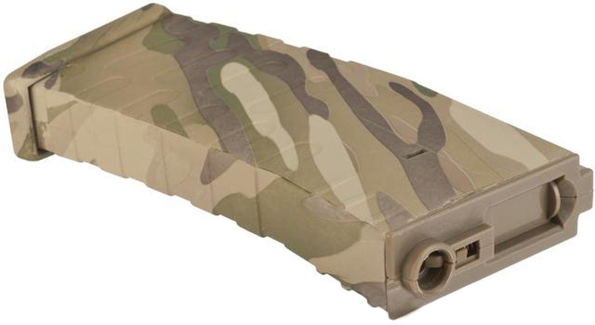 Chargeur Hi-Cap 300 billes Multicam pour Colt M4 AEG Airsoft