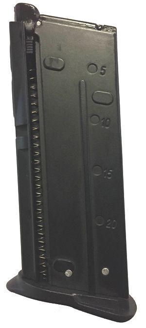 CHARGEUR NOIR POUR FIVE SEVEN GAZ REF 200510