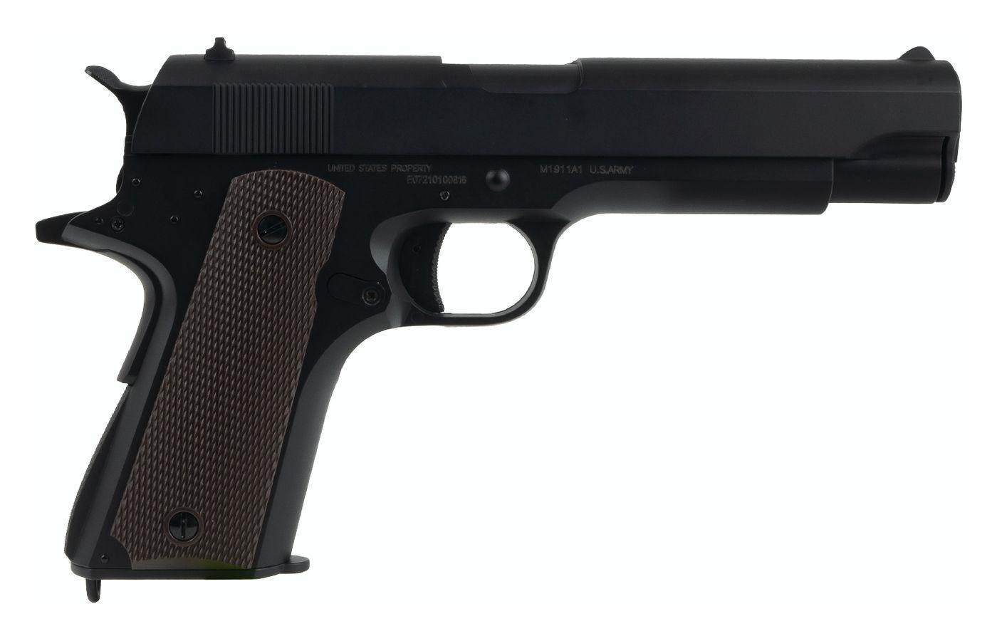 Colt 1911 AEP Ni-Mh culasse métal Noir