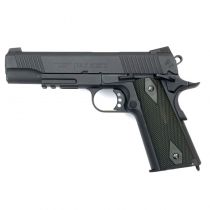 COLT 1911 RAIL GUN CO2 NOIR BLOWBACK FULL METAL