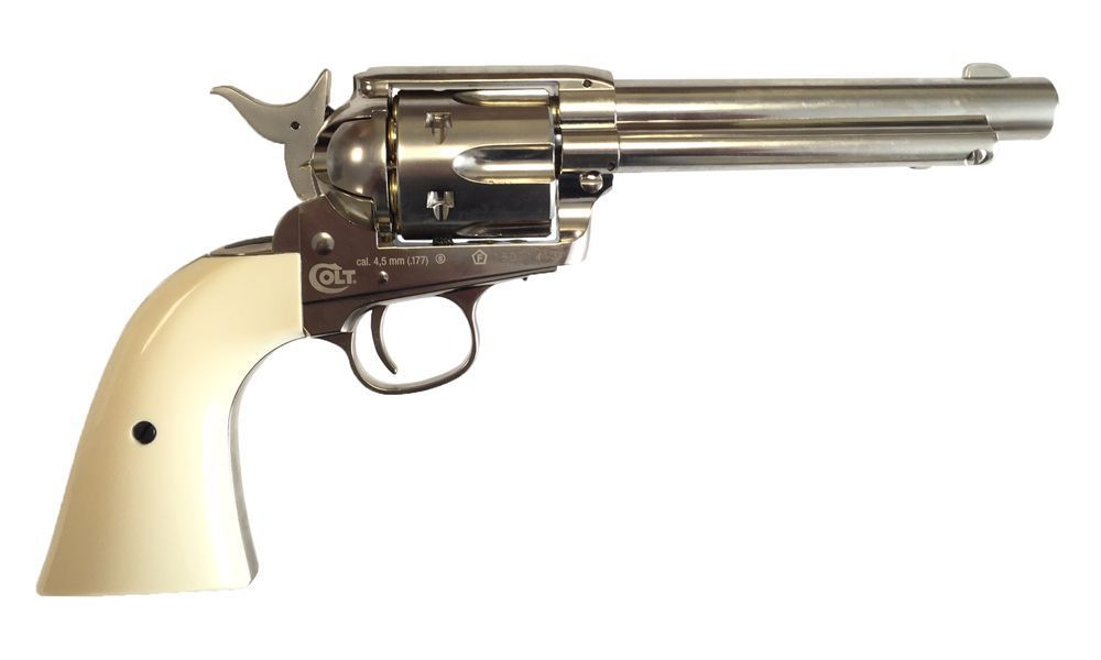 COLT 45 PEACEMAKER CO2 AIRGUN 4.5 FULL METAL CHROME