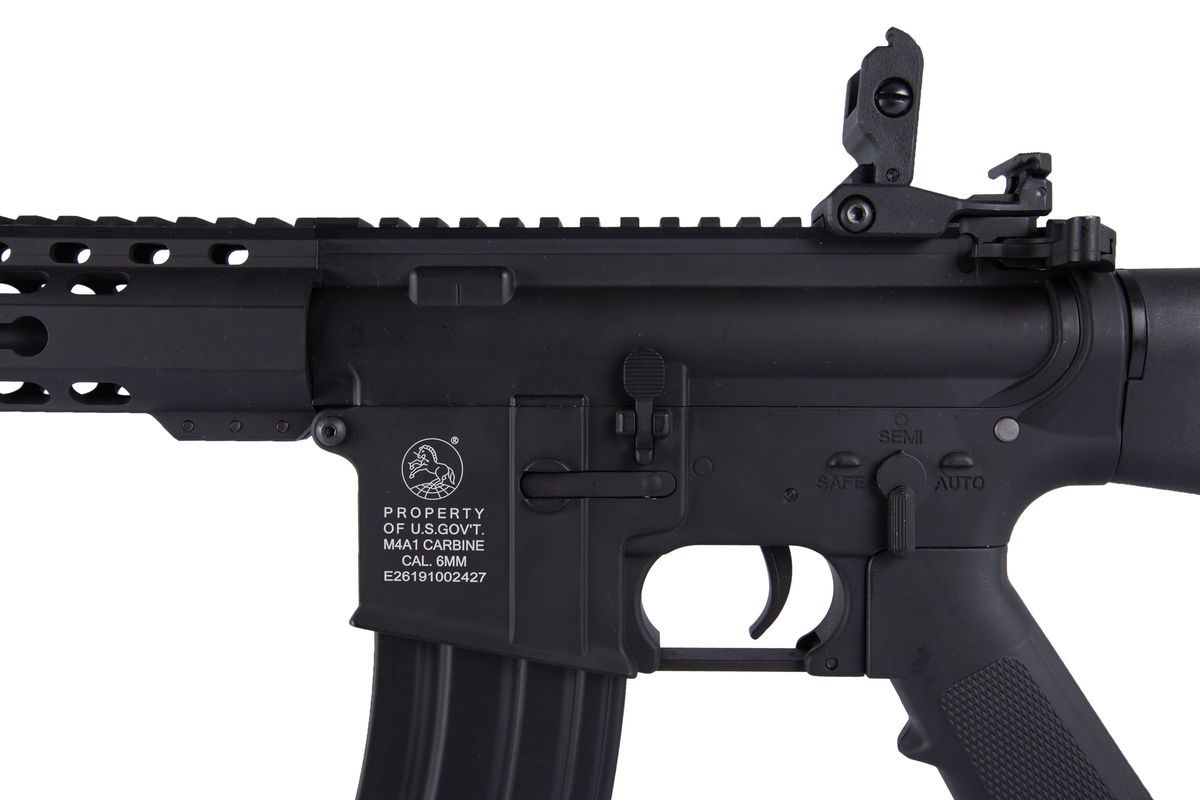 Colt M16 Airline Keymod Noir Airsoft Full Metal 1,2J