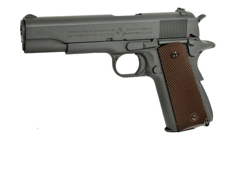 COLT M1911 100TH ANNIVERSARY CO2 CULASSE METAL MOBILE