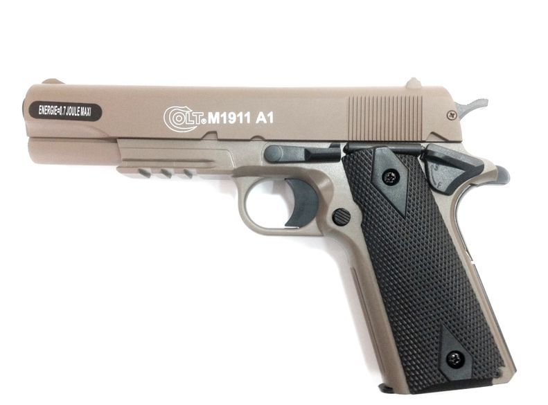 COLT M1911 A1 CULASSE METAL SPRING DARK EARTH