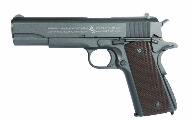 COLT M1911 ANNIVERSARY CO2 CULASSE METAL MOBILE
