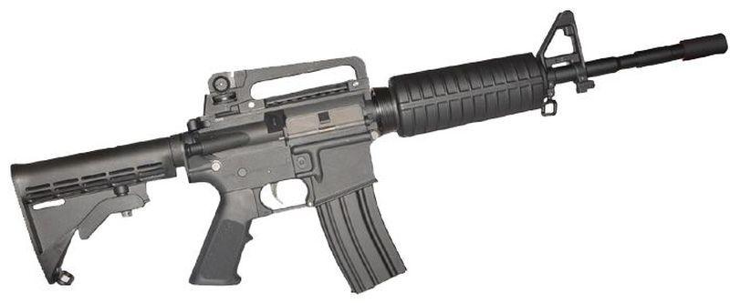 Colt M4 Carbine Noir Airsoft Corps Metal 1,2J