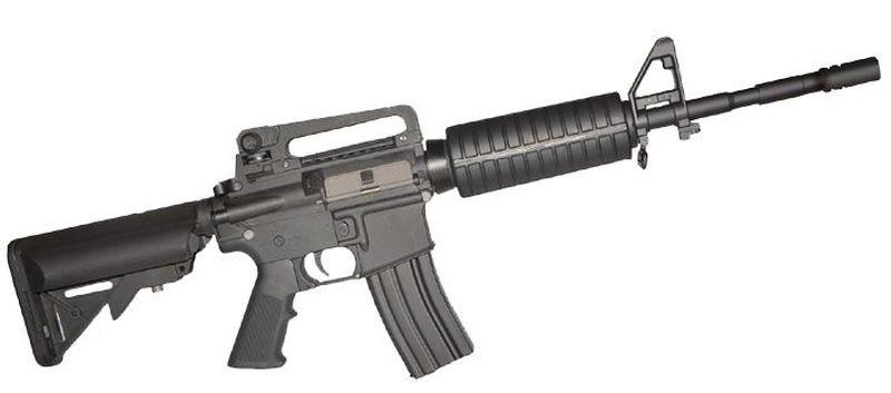 Colt M4 Carbine Noir Airsoft Fibre Nylon 1,2J