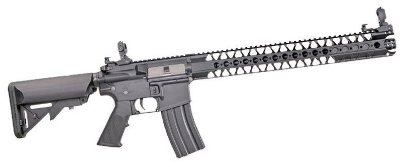 Colt M4 Harvest Full métal Noir Airsoft 1,2J