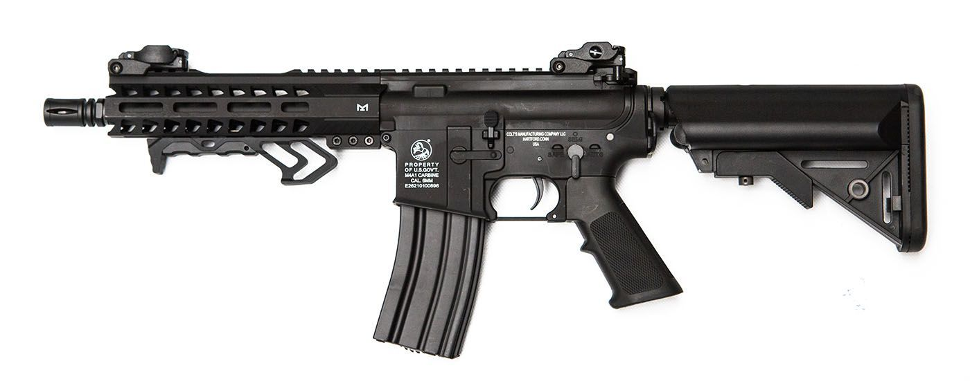 Colt M4 Hornet Black AEG Mosfet Full metal 300 BBS 1 J