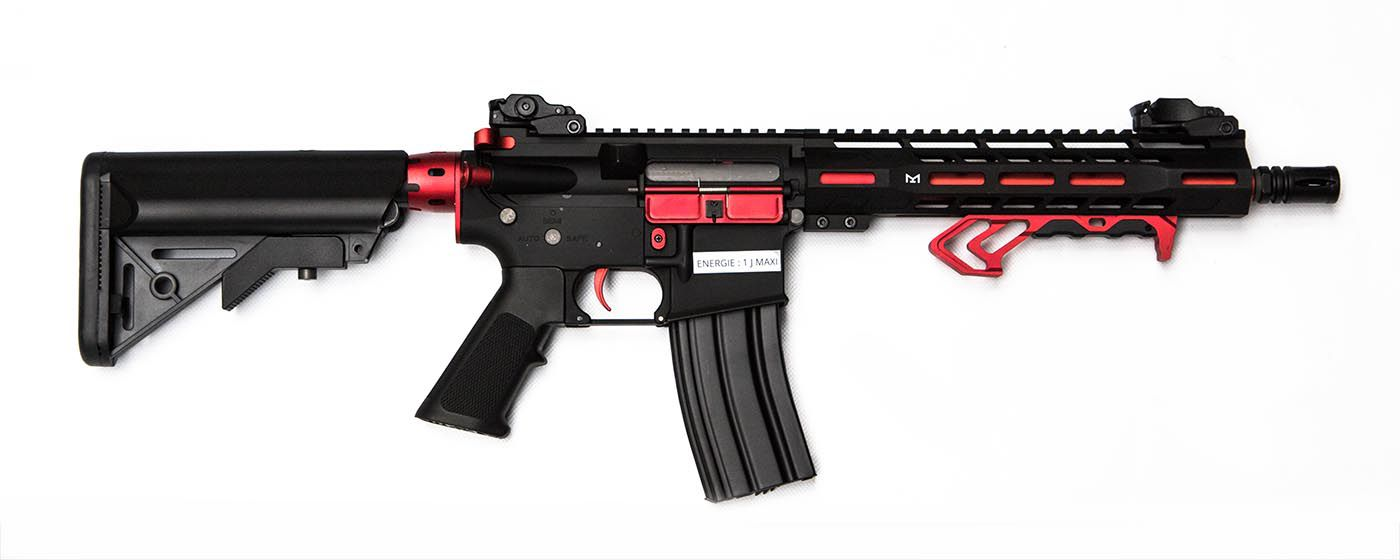 Colt M4 Hornet Red Fox AEG Mosfet Full metal 300 BBS 1J