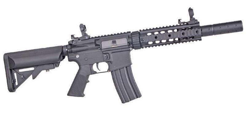 Colt M4 Silent OPS Noir Airsoft Fibre Nylon 1,2J