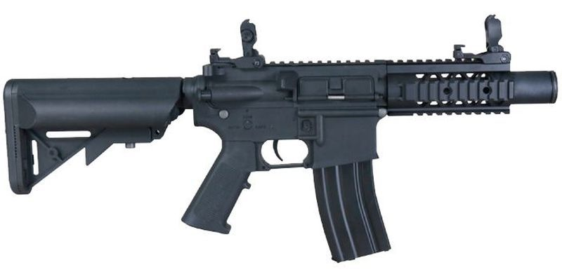 Colt M4 Special Forces Mini Noir Airsoft Fibre Nylon 1,2J