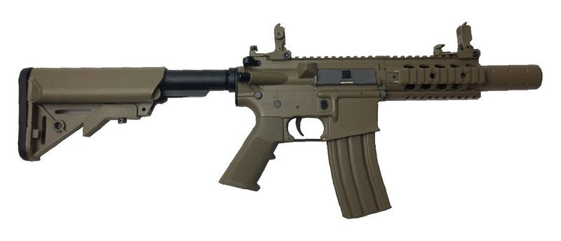Colt M4 Special Forces Mini Tan Airsoft Corps Metal 1,2J