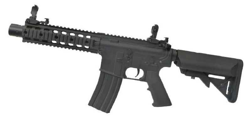 Colt M4 Special Forces Noir Airsoft Corps Metal 1,2J