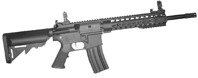 Colt M4 Special Forces Noir Airsoft Fibre Nylon 1,2J