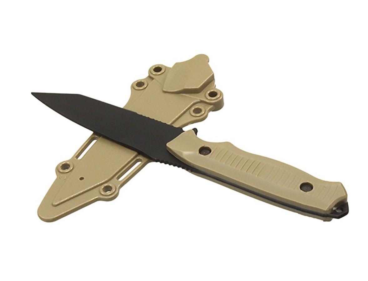 Couteau Factice en plastique BC141 couleur Tan