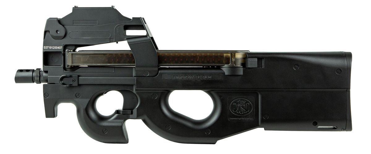 Cybergun FN Herstal P90 Airsoft AEG Noir avec Red-Dot intégré