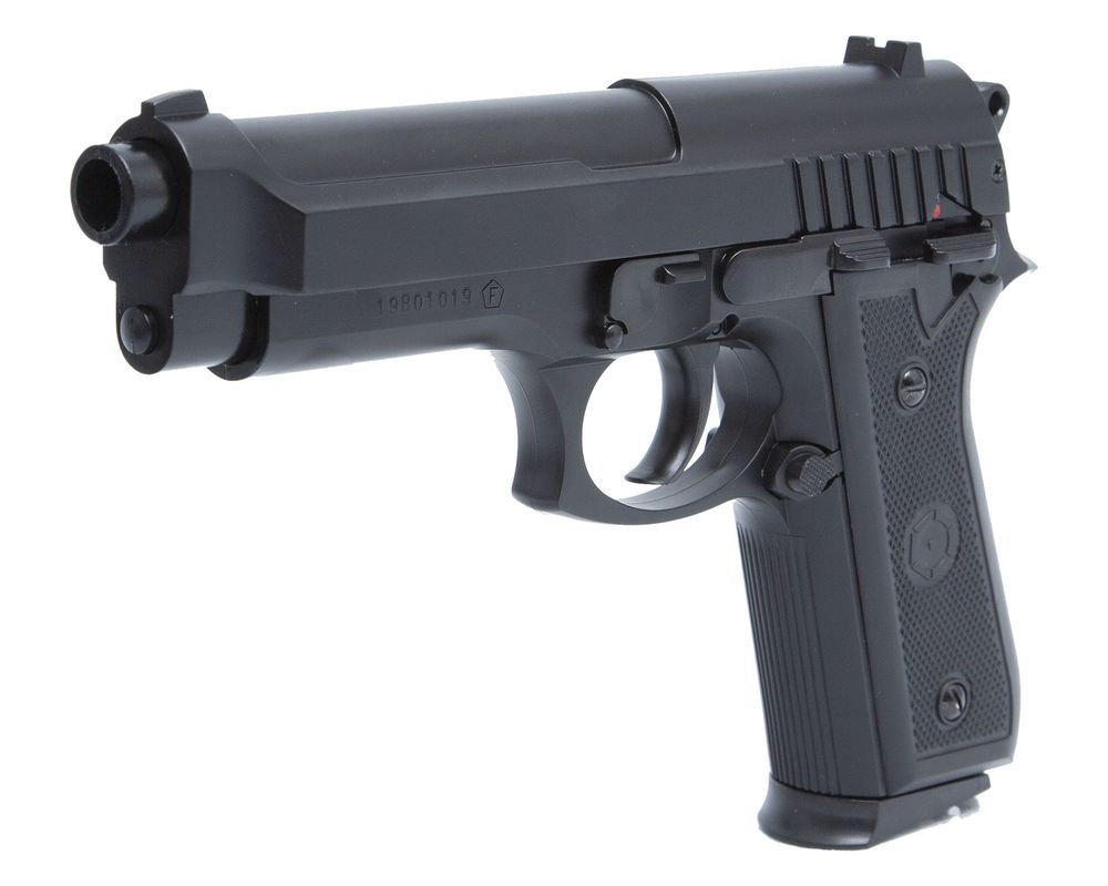 Cybergun PT92 HPA Noir Spring manuel Culasse metal