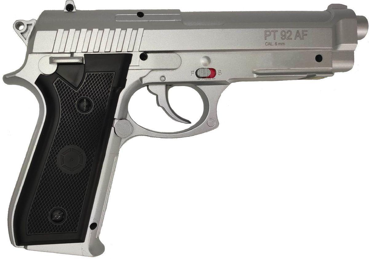 Cybergun PT92 Silver Co2 BAX Full Metal Culasse Fixe