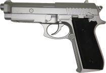 Cybergun PT92 Silver Co2 BAX Full Metal Culasse Fixe
