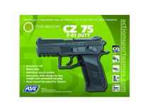 CZ 75 P-07 DUTY NOIR CO2 BLOWBACK
