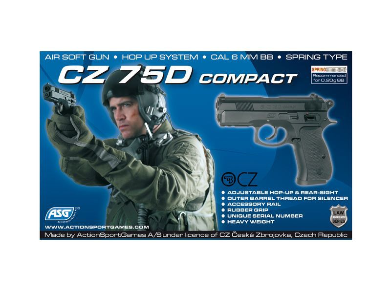 CZ 75D COMPACT SPRING 0.4JOULE