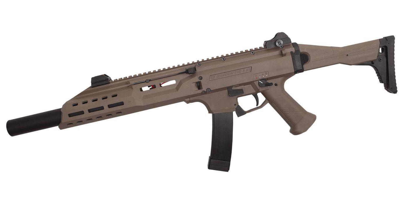 CZ Scorpion EVO 3-A1 B.E.T Carbine Edition limitée FDE-DT