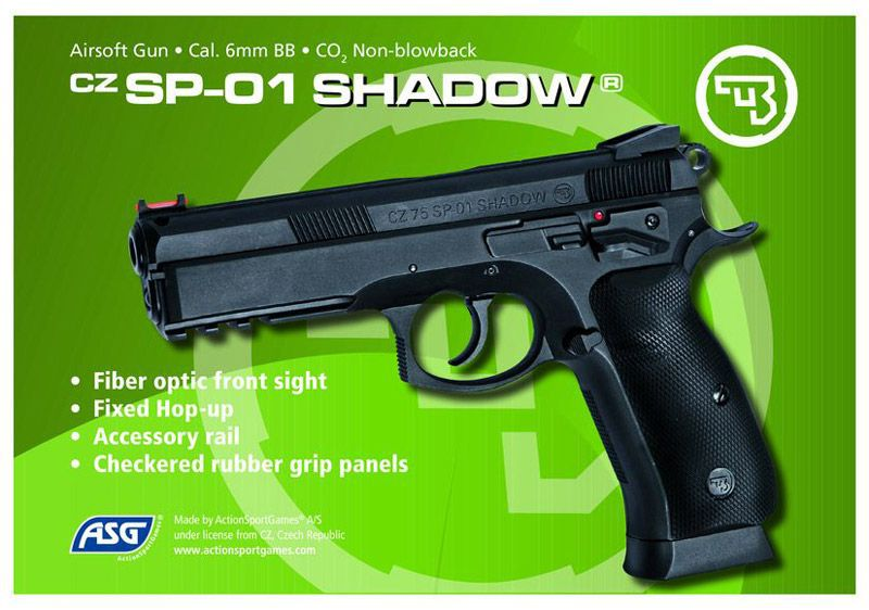 CZ SP-01 SHADOW CO2 CULASSE FIXE